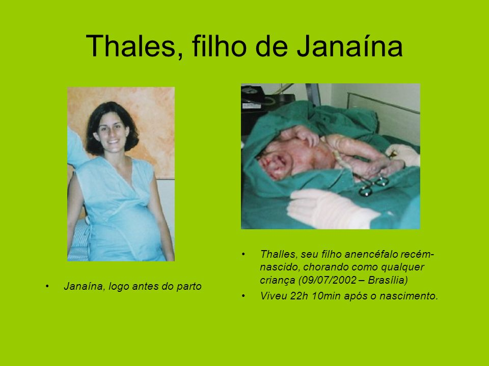 Thales, filho de Janaína