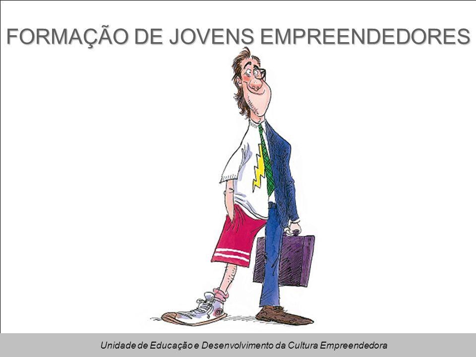 FORMAÇÃO DE JOVENS EMPREENDEDORES