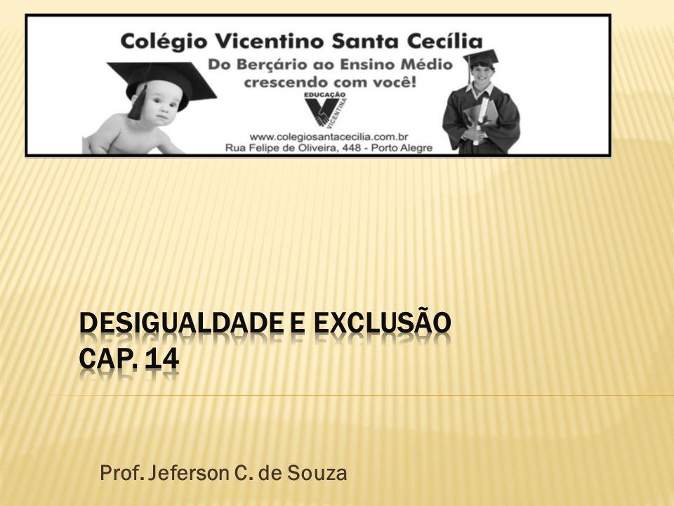 Desigualdade e exclusão Cap. 14