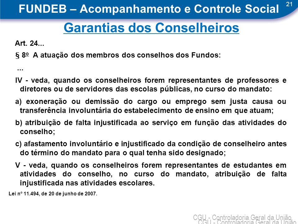 FUNDEB – Acompanhamento e Controle Social