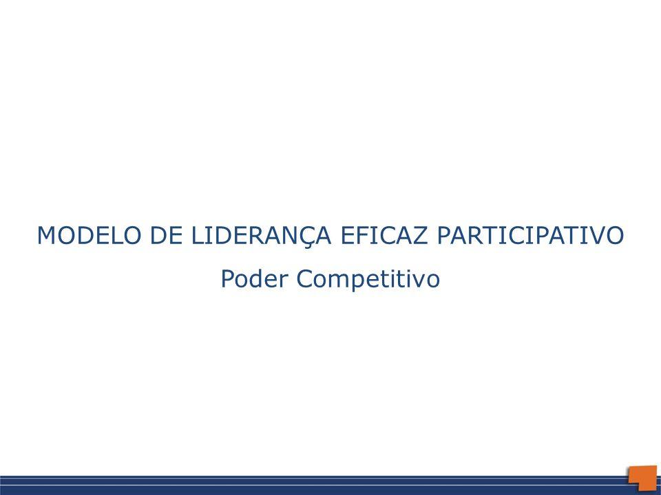 MODELO DE LIDERANÇA EFICAZ PARTICIPATIVO