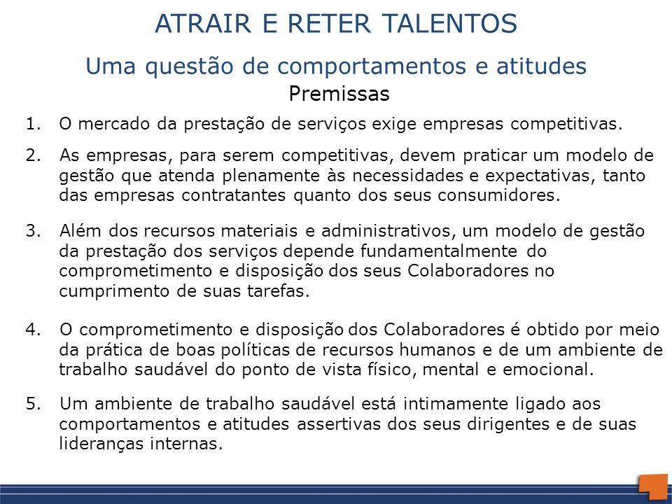 ATRAIR E RETER TALENTOS