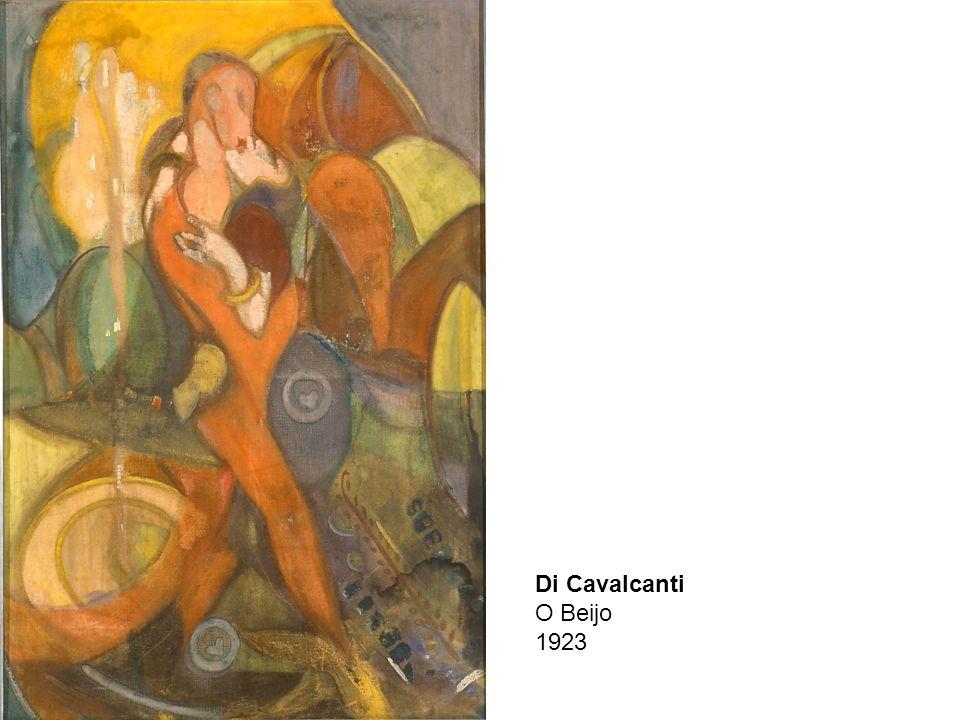 Di Cavalcanti O Beijo 1923