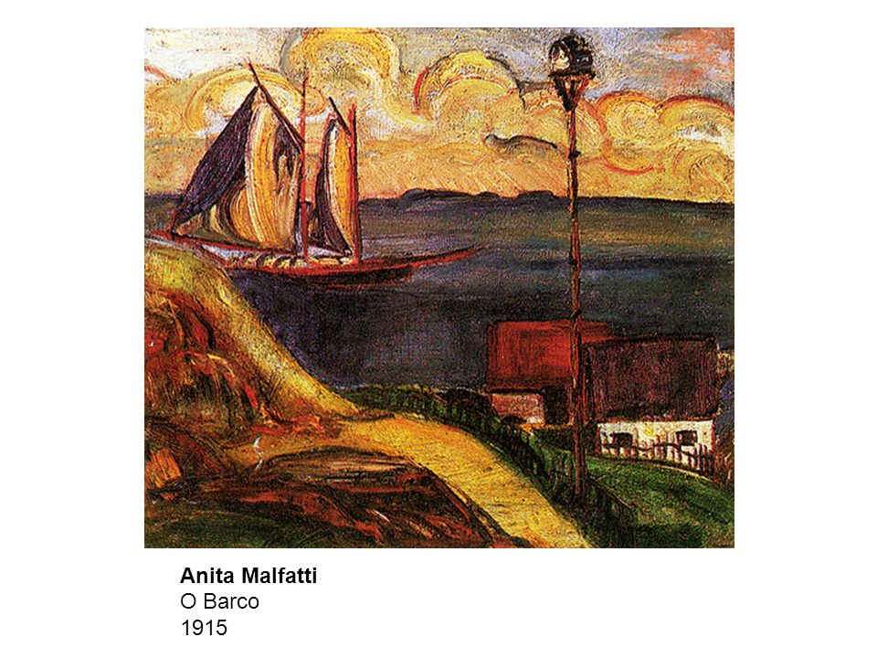 Anita Malfatti O Barco 1915