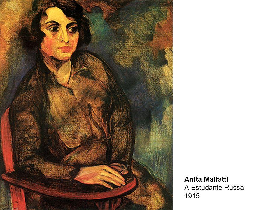 Anita Malfatti A Estudante Russa 1915