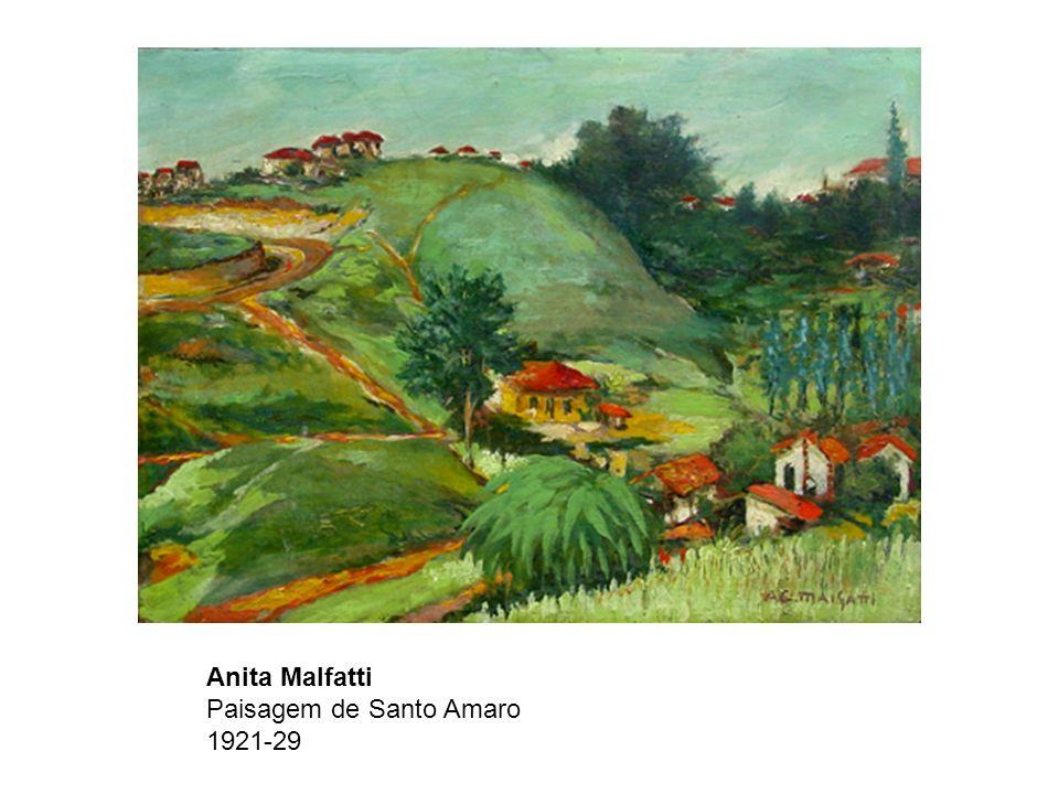 Anita Malfatti Paisagem de Santo Amaro 1921-29