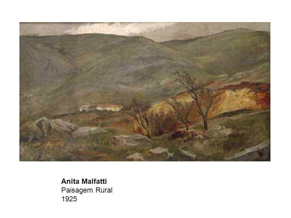 Anita Malfatti Paisagem Rural 1925