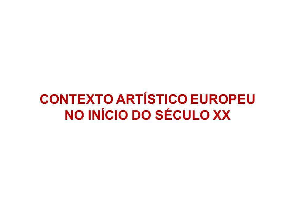 CONTEXTO ARTÍSTICO EUROPEU