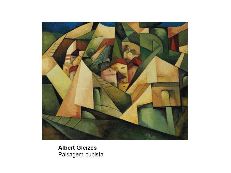 Albert Gleizes Paisagem cubista