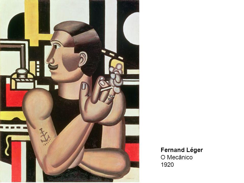 Fernand Léger O Mecânico 1920