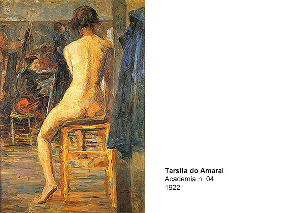 Tarsila do Amaral Academia n. 04 1922