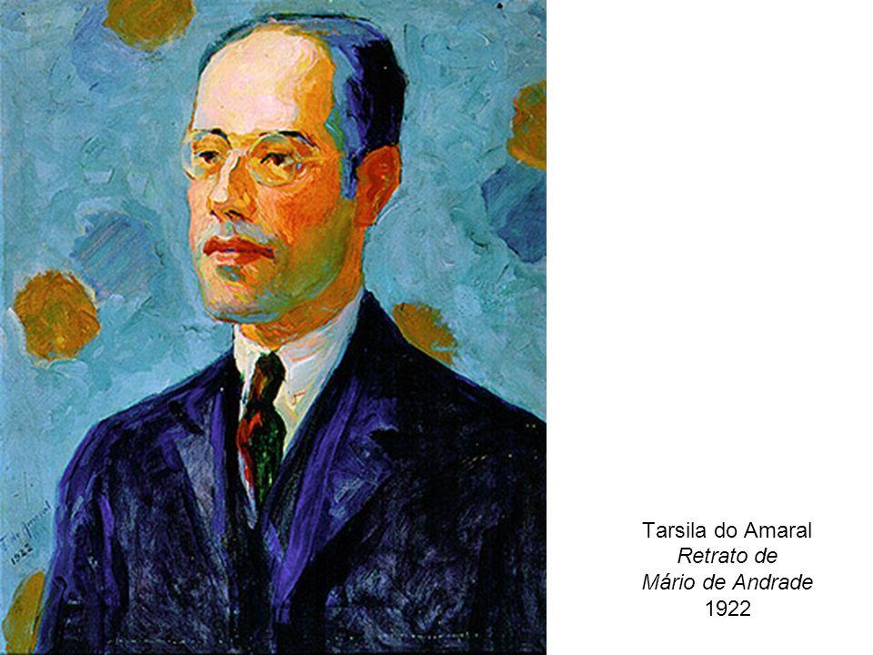 Tarsila do Amaral Retrato de Mário de Andrade 1922