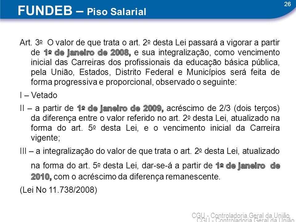 18/04/1118/04/11. FUNDEB – Piso Salarial.