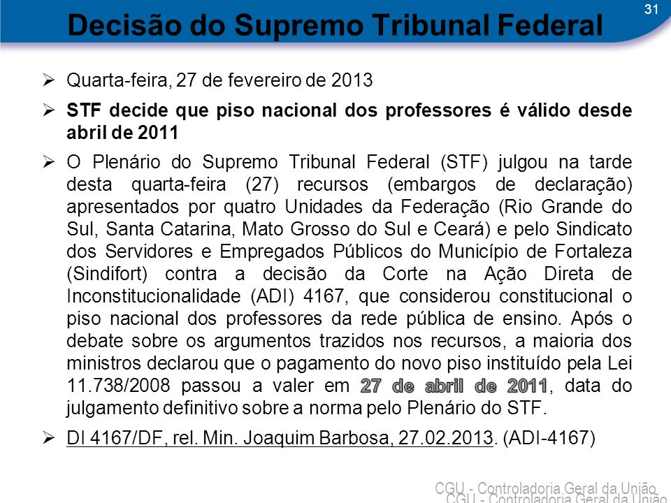 Decisão do Supremo Tribunal Federal