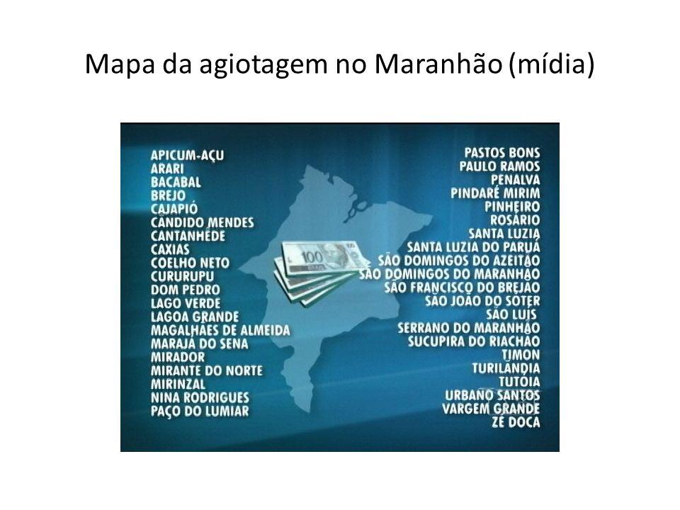 Mapa da agiotagem no Maranhão (mídia)