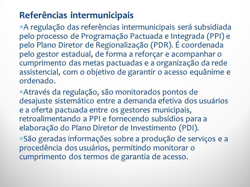 Referências intermunicipais