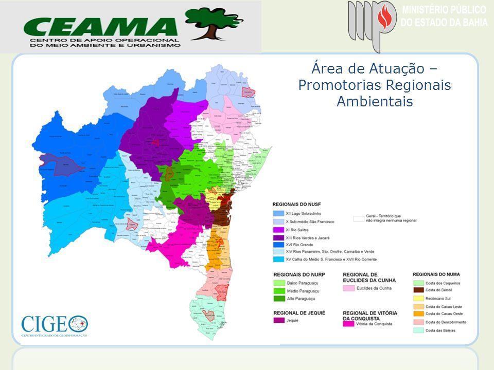 Promotorias Regionais Ambientais