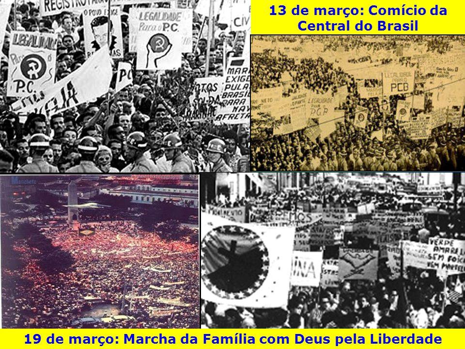 13 de março: Comício da Central do Brasil