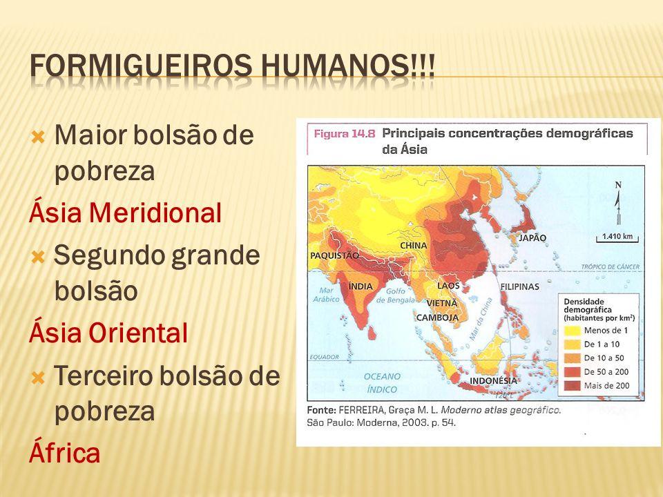 Formigueiros humanos!!! Maior bolsão de pobreza Ásia Meridional