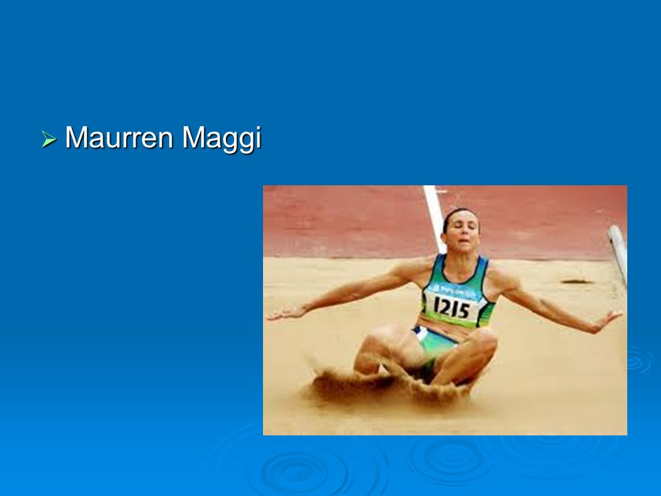 Maurren Maggi