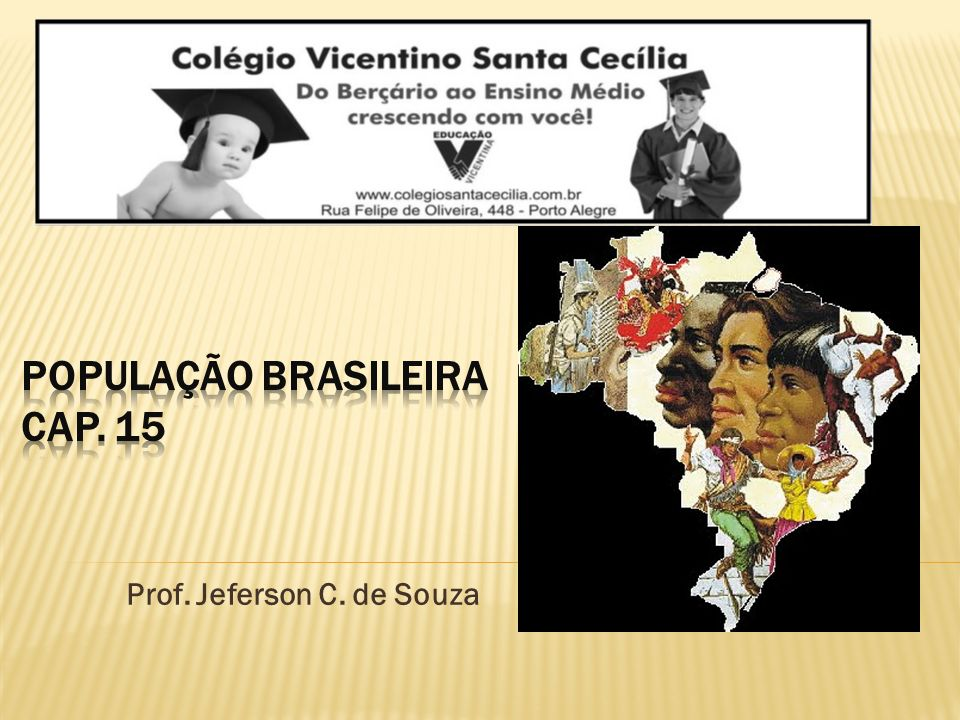 população brasileira Cap. 15