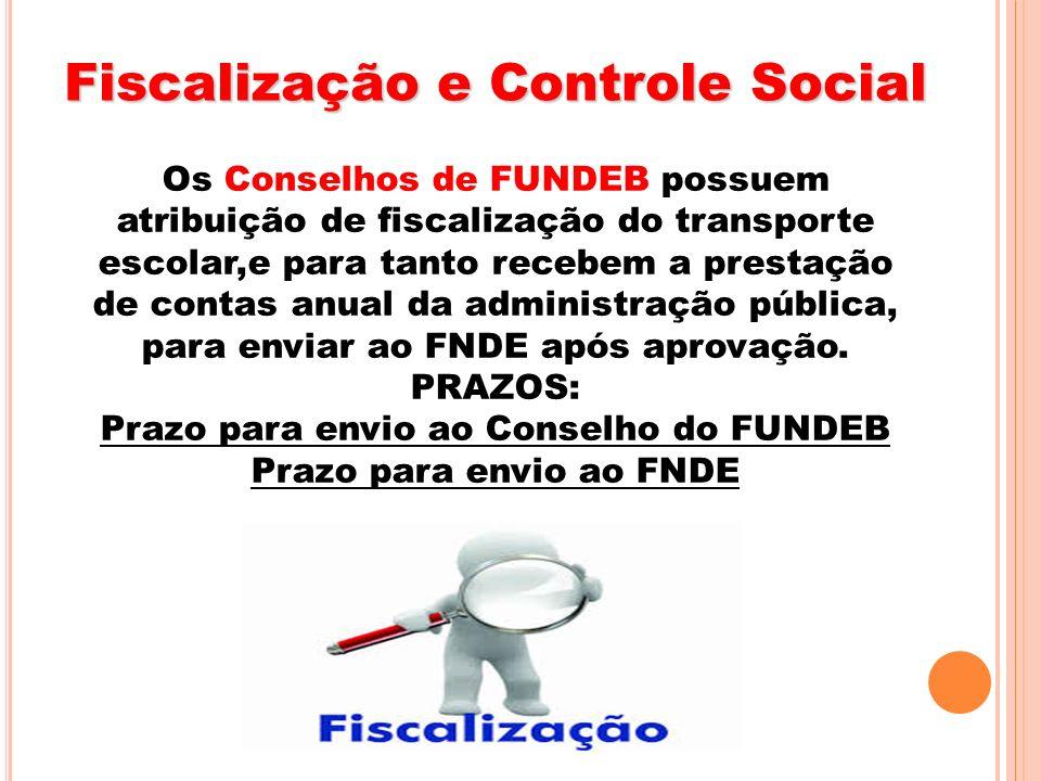 Fiscalização e Controle Social