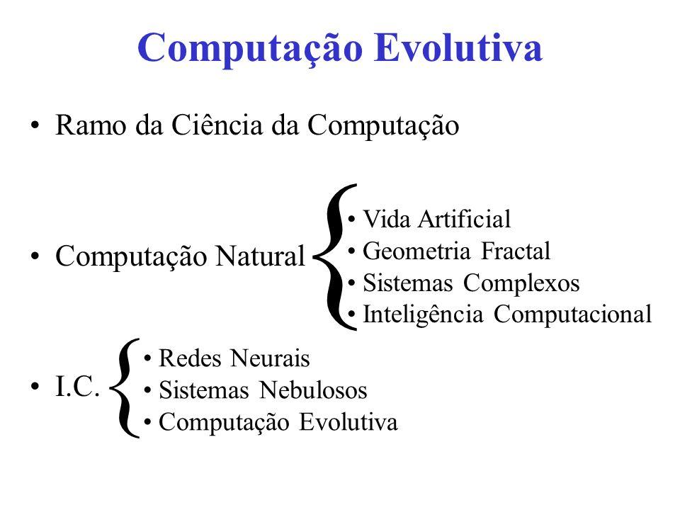 { { Computação Evolutiva Ramo da Ciência da Computação