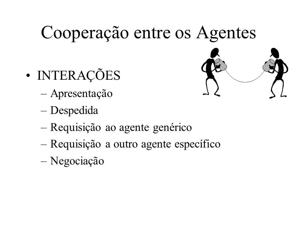 Cooperação entre os Agentes