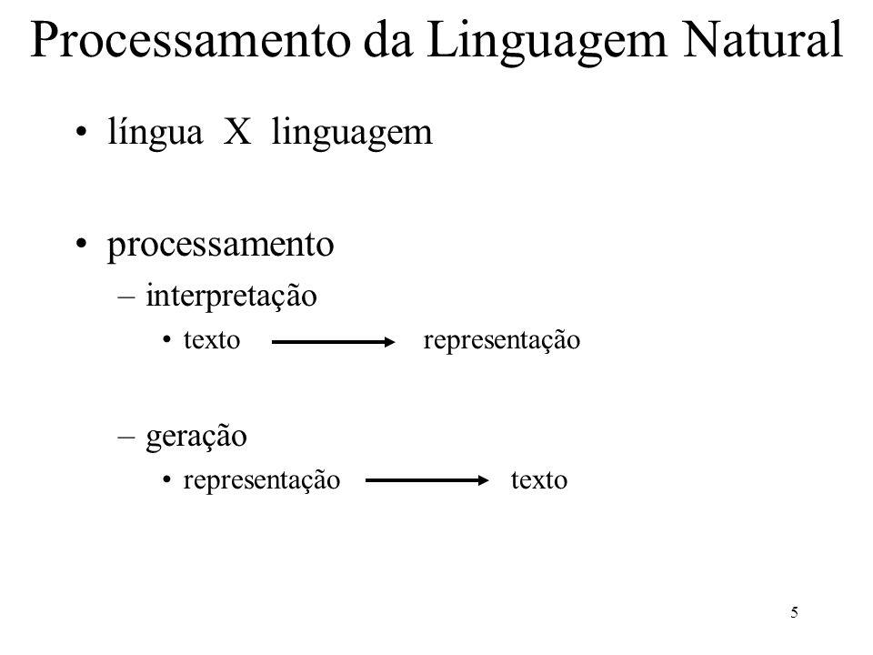 Processamento da Linguagem Natural