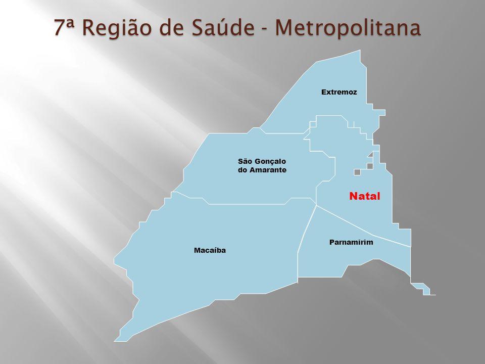 7ª Região de Saúde - Metropolitana