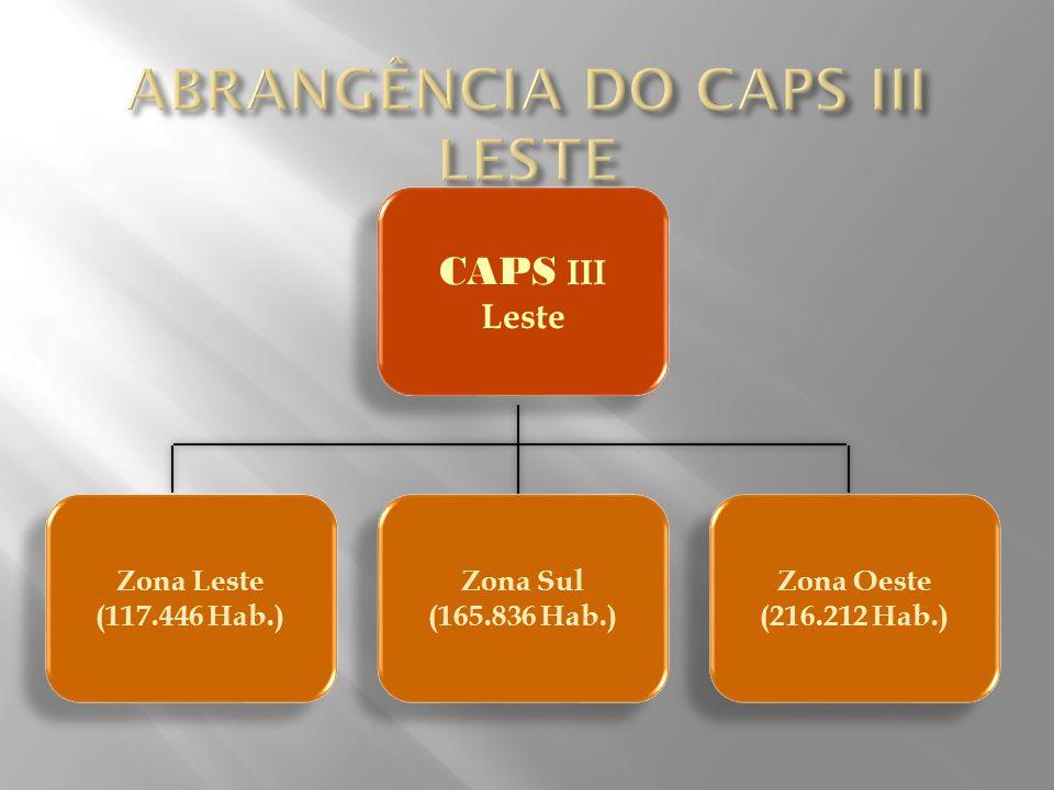 ABRANGÊNCIA DO CAPS III LESTE