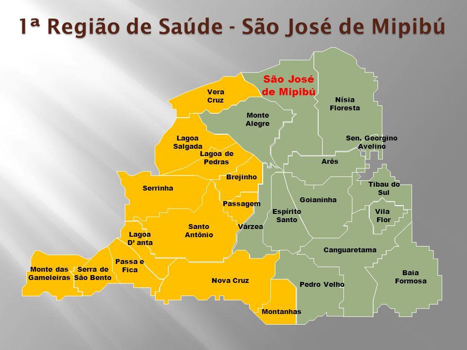 1ª Região de Saúde - São José de Mipibú
