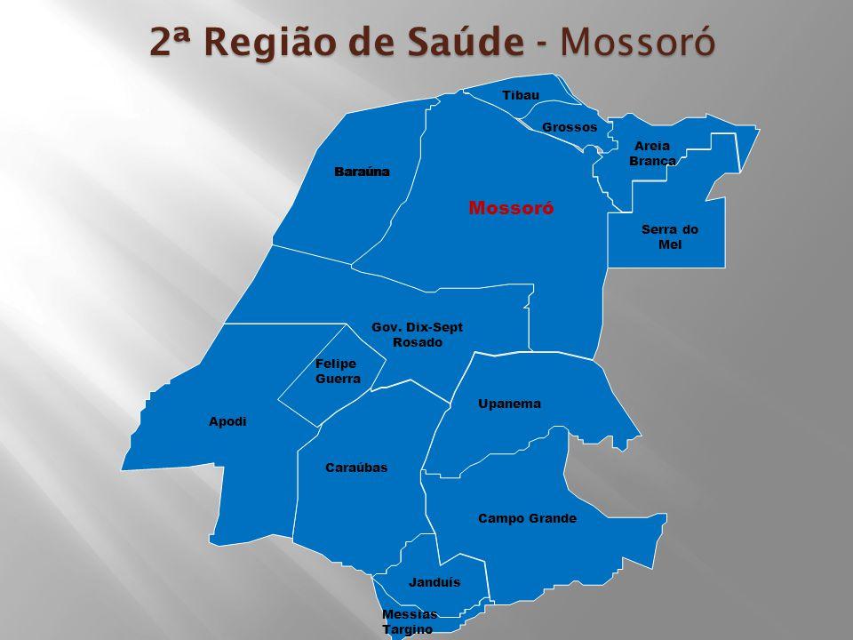 2ª Região de Saúde - Mossoró