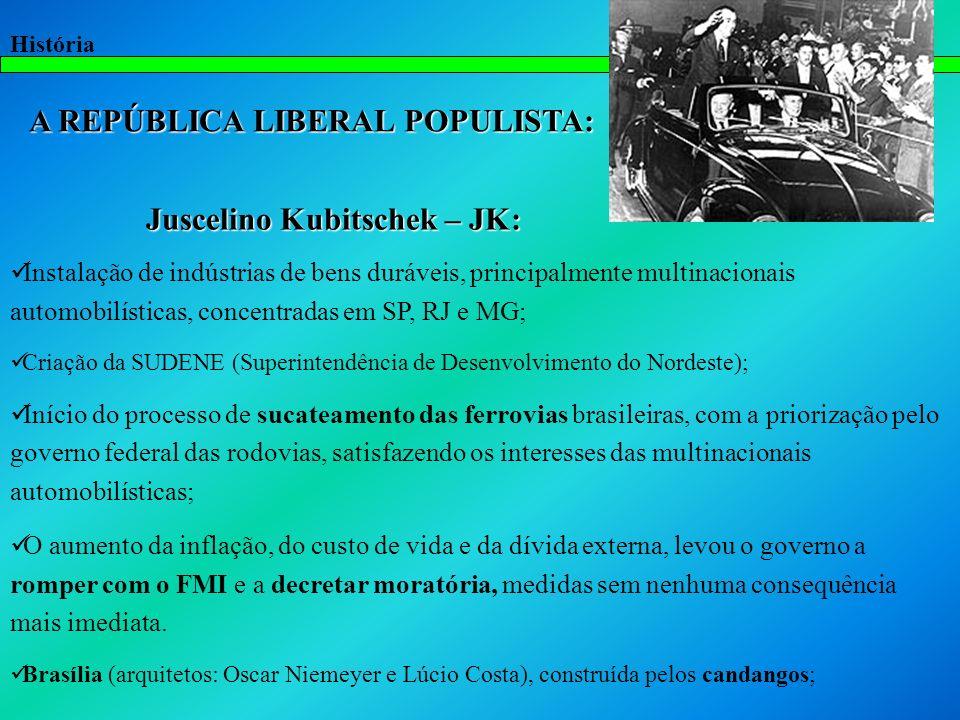 A REPÚBLICA LIBERAL POPULISTA: