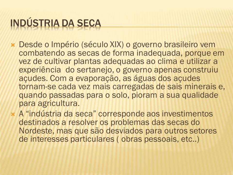 INDÚSTRIA DA SECA