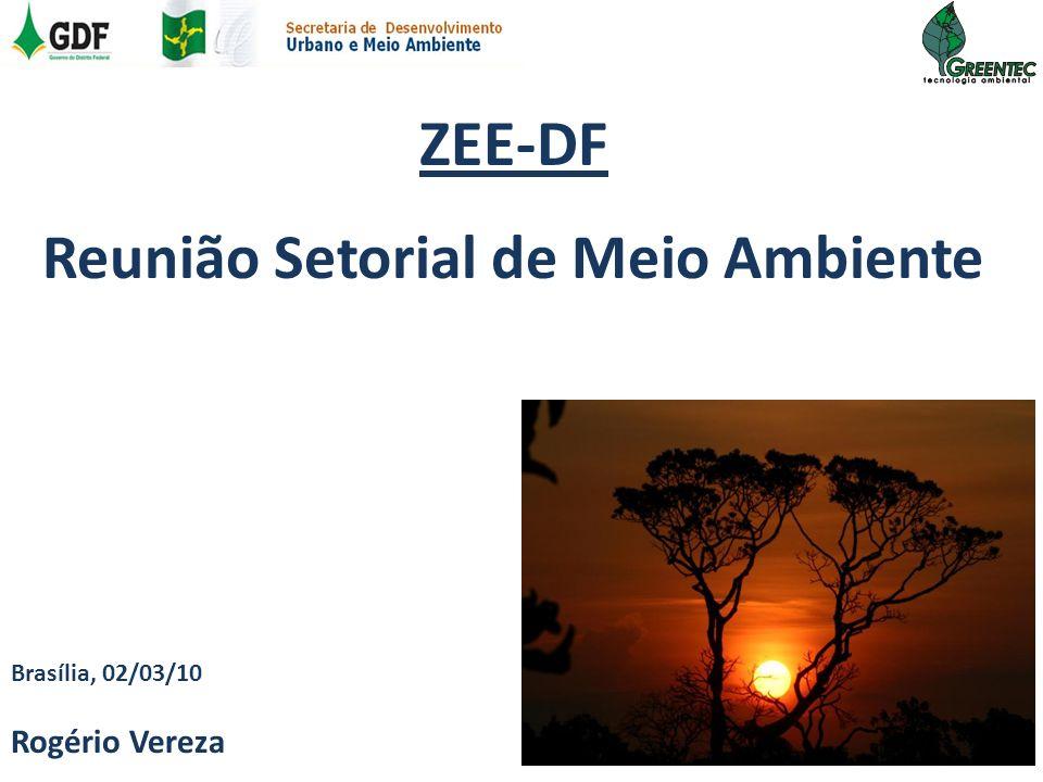 Reunião Setorial de Meio Ambiente