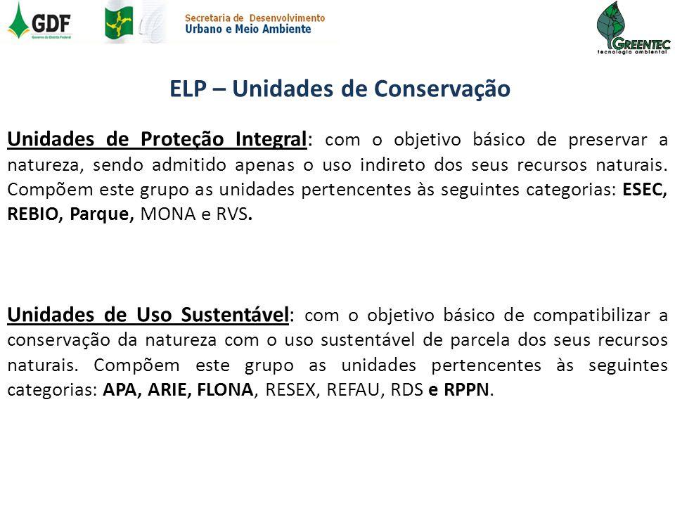 ELP – Unidades de Conservação