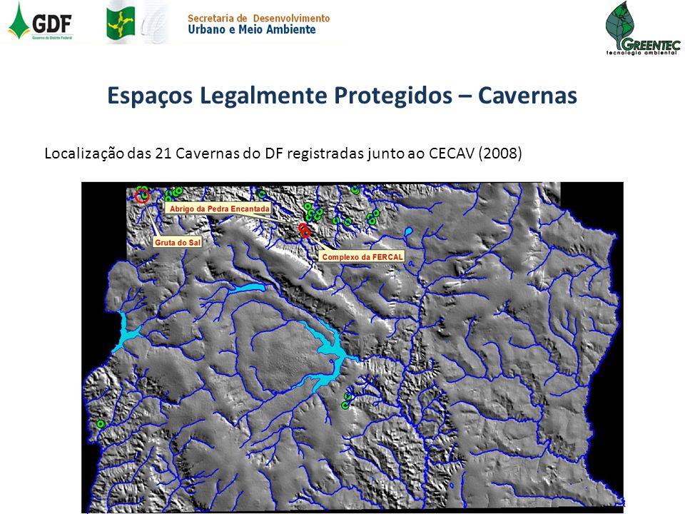 Espaços Legalmente Protegidos – Cavernas