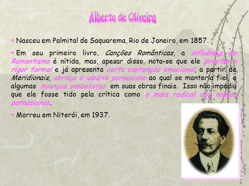 Nasceu em Palmital de Saquarema, Rio de Janeiro, em 1857.