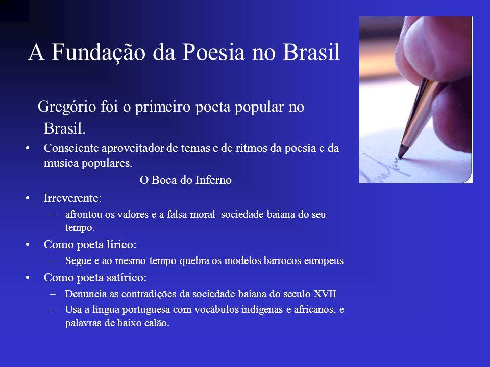 A Fundação da Poesia no Brasil