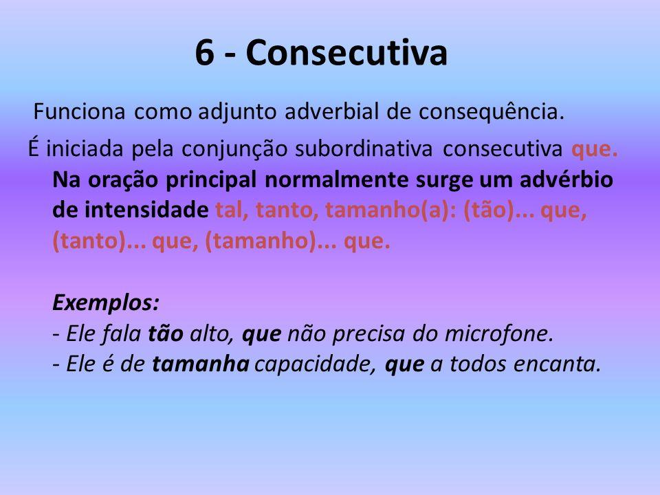 6 - Consecutiva