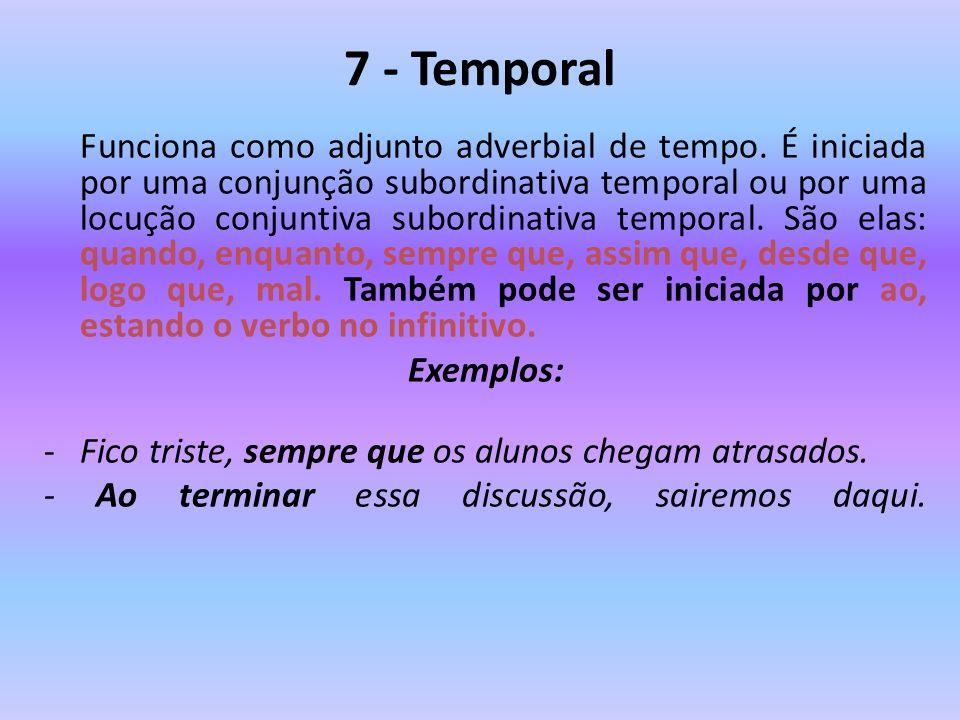 7 - Temporal