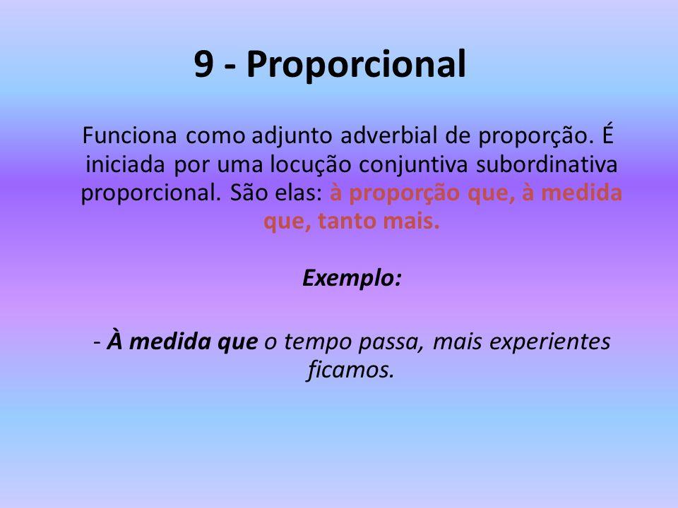 9 - Proporcional