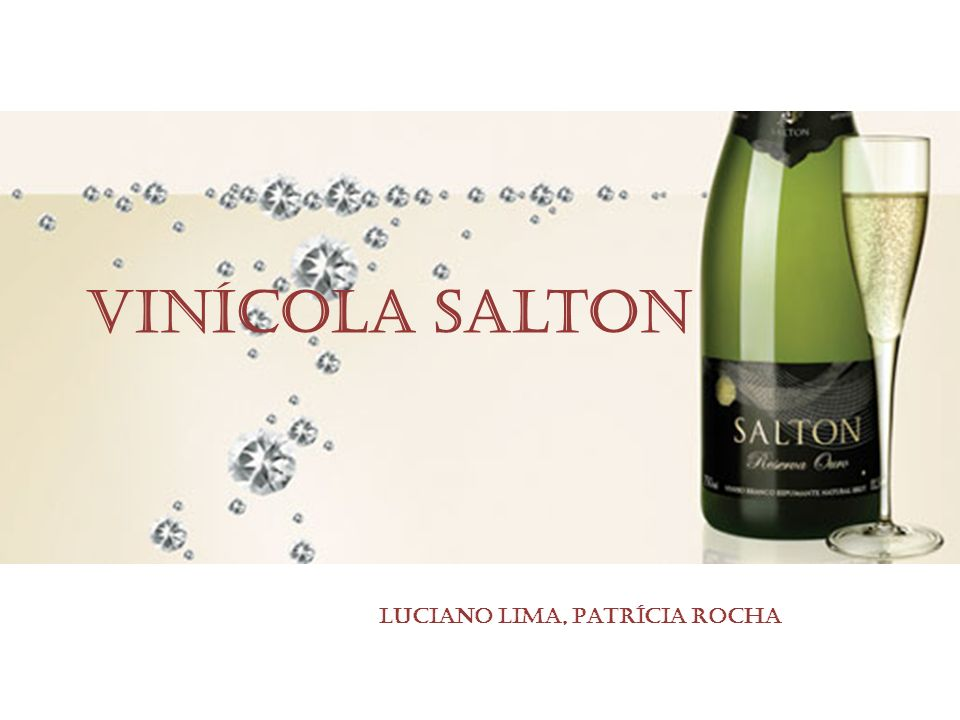 Vinícola Salton Luciano Lima, Patrícia Rocha
