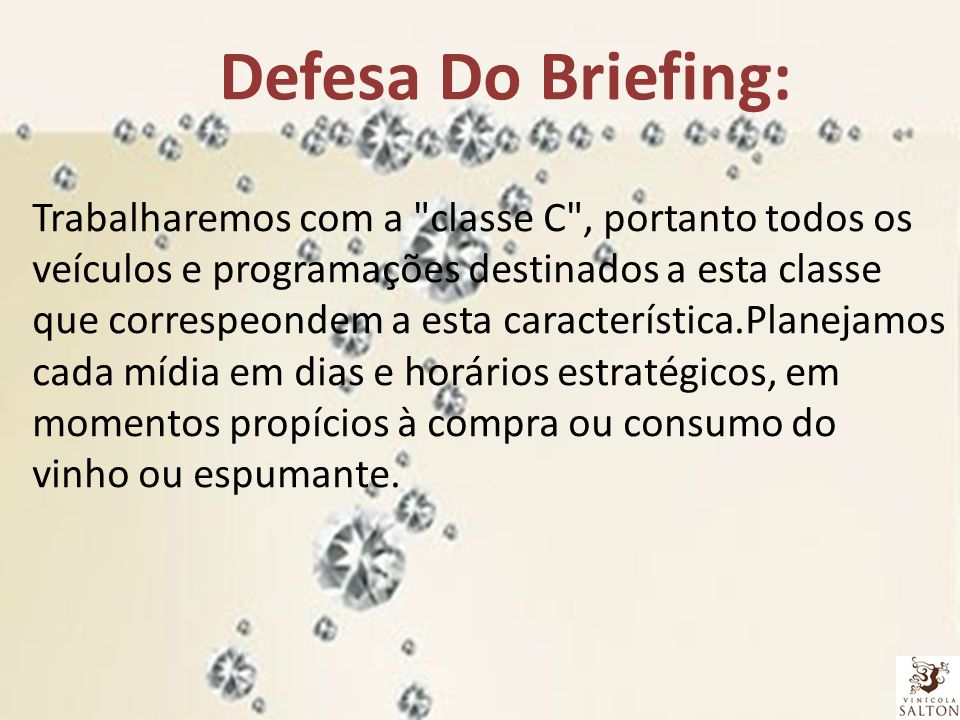 Defesa Do Briefing: