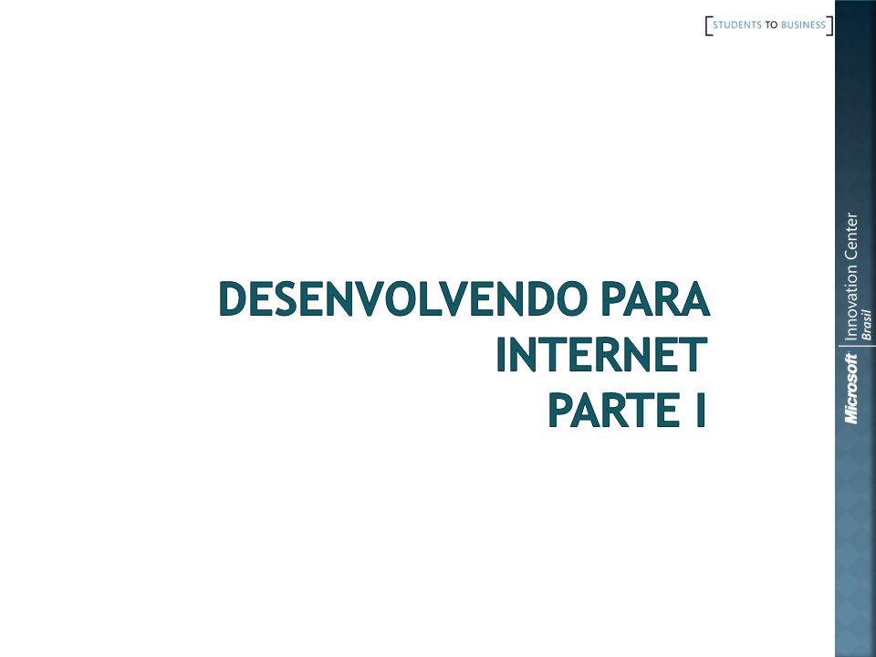 Desenvolvendo para internet parte I
