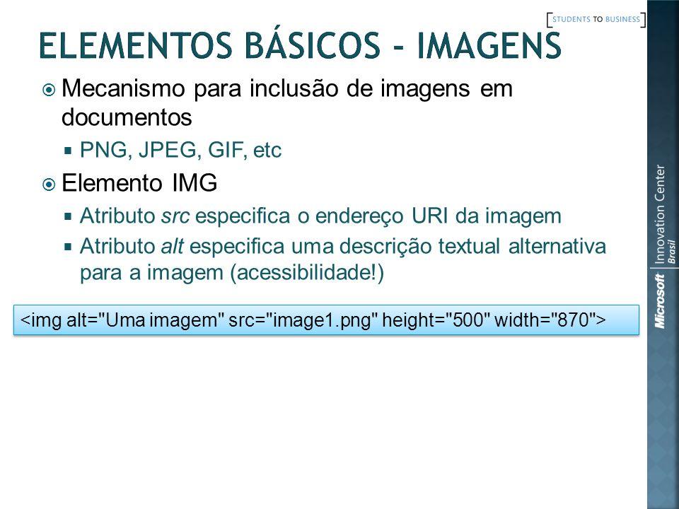 Elementos Básicos - Imagens