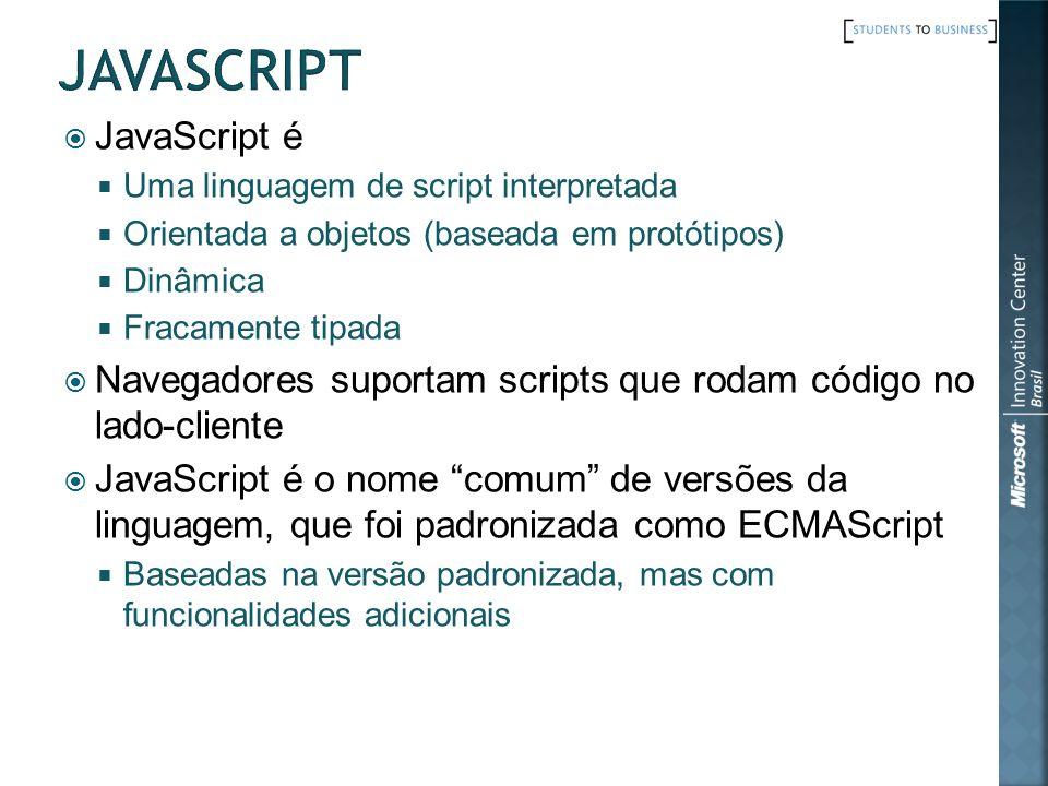 javascript JavaScript é