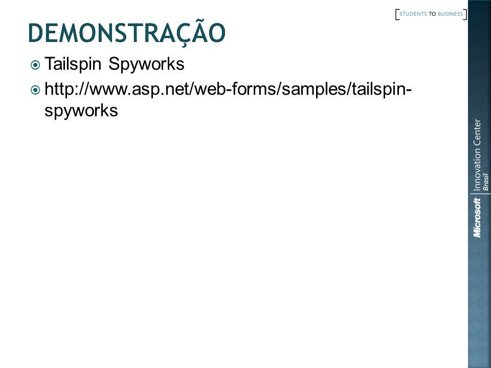 Demonstração Tailspin Spyworks