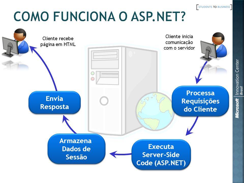 Armazena Dados de Sessão Server-Side Code (ASP.NET)